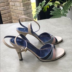 Marc Jacobs ankle strap size 38 high heel sandal